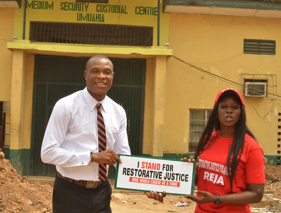 Advocacy for restorative justice at REJA