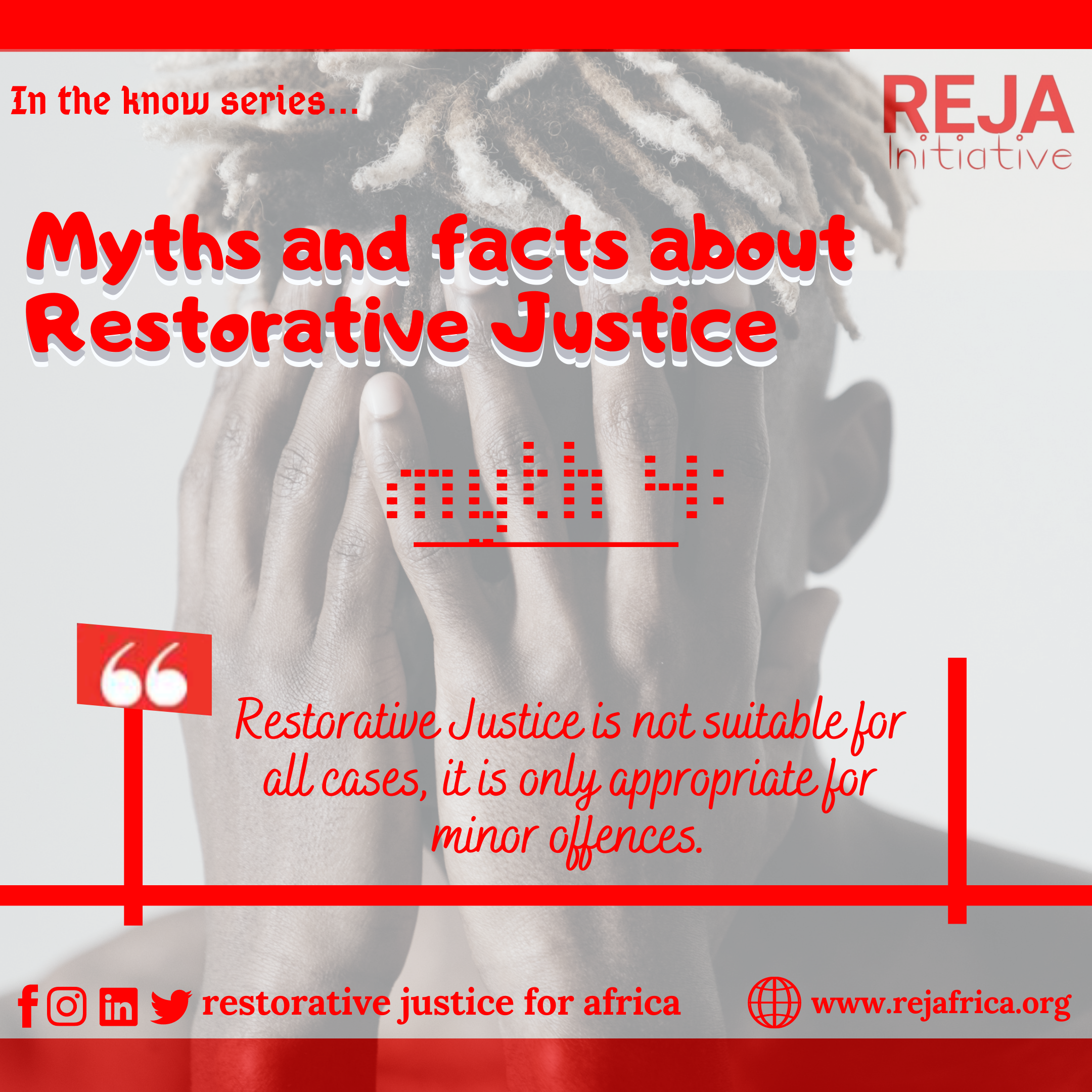 Myths and Facts about Restorative Justice